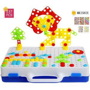 ASSEMBLAGE CONSTRUCTION Mosaique Enfant Puzzle 3D Construction Enfant Jeu