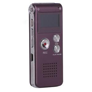 DICTAPHONE - MAGNETO. 8Go Dictaphone Enregistreur, Portable Rechargeable