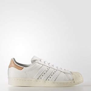 adidas superstar 80s w blanc et rose