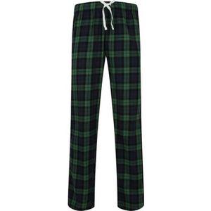 Homme Polaire Pantalon De Détente Pyjama Doux Pantalon carreaux chaude Stag Star M-XXL