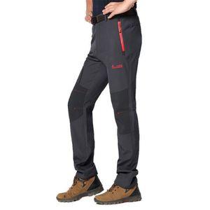 SOFTSHELL DE SPORT Pantalon Softshell Homme Hiver de Extérieur Sports