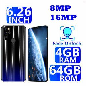 SMARTPHONE 6.26 Pouces Grand écran 3800mAh 4GB+64GB Identific