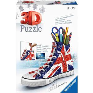 PUZZLE RAVENSBURGER Puzzle 3D Sneaker Union Jack 108 pcs