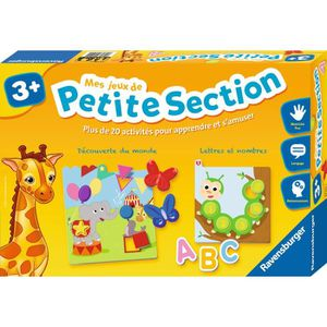 JEU D'APPRENTISSAGE RAVENSBURGER - 24522 - Coffret Mes Jeux de Petite