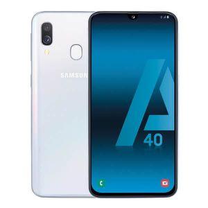CLÉ USB Samsung Galaxy A40 4Go/64Go Blanc Double SIM A405