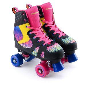 2pcs noir housse de protection anti-usure pour patins à glace et patins à