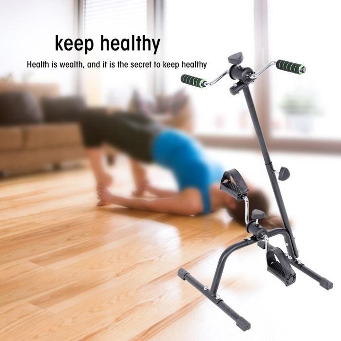 Machine réglable de thérapie physique de vélo de remise en forme d'intérieur de vélo d'exercice de jambe de bras de corps HB020