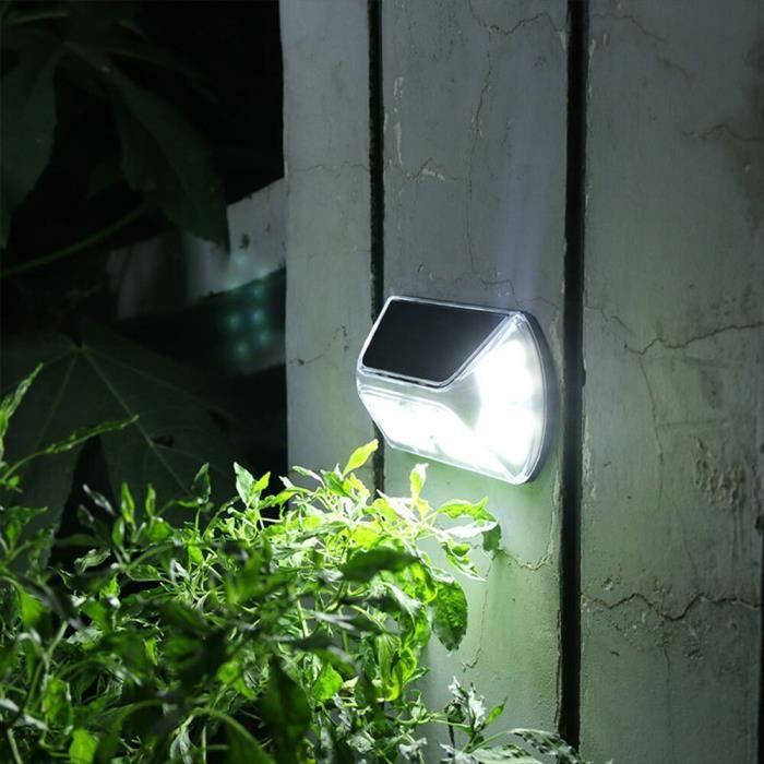 Applique murale d'extérieur solaire avec détecteur de mouvement, applique murale écologique, éclairaobjet decoratif ZWSP11967