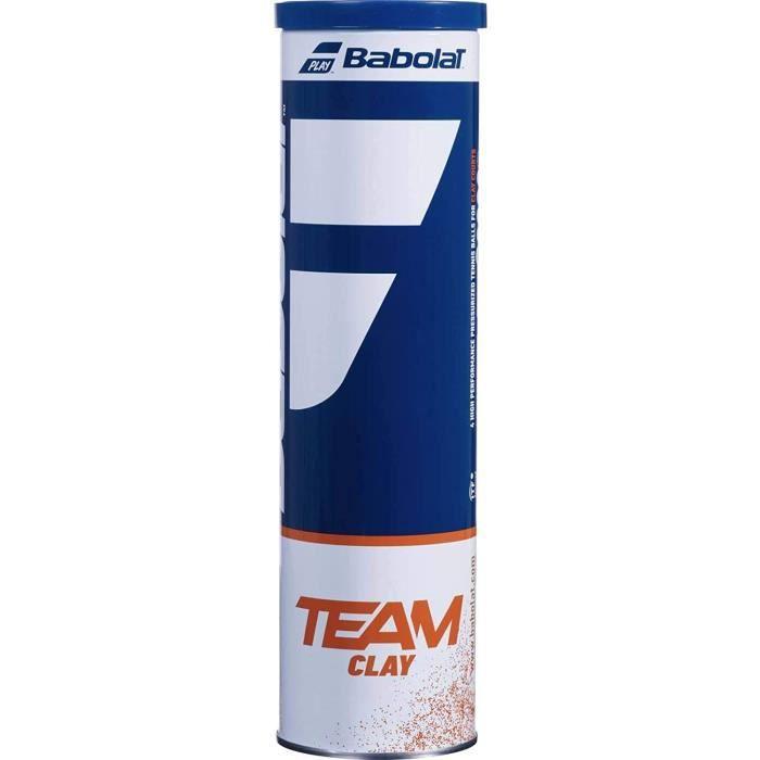Babolat Balles de Tennis Team Clay A168