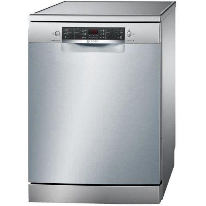 Bosch Serie - 4 SMS46GI05E Lave-vaisselle pose libre largeur : 60 cm profondeur : 60 cm hauteur : 84.5 cm acier inoxydable