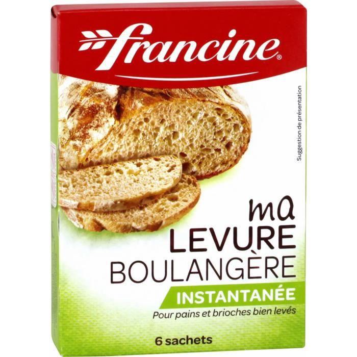 Levure boulangère 30 g Francine