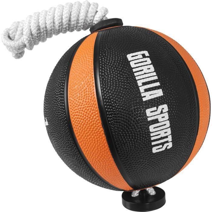 Gorilla Sports - Ballon d'exercice avec corde de tornado ball - 1KG