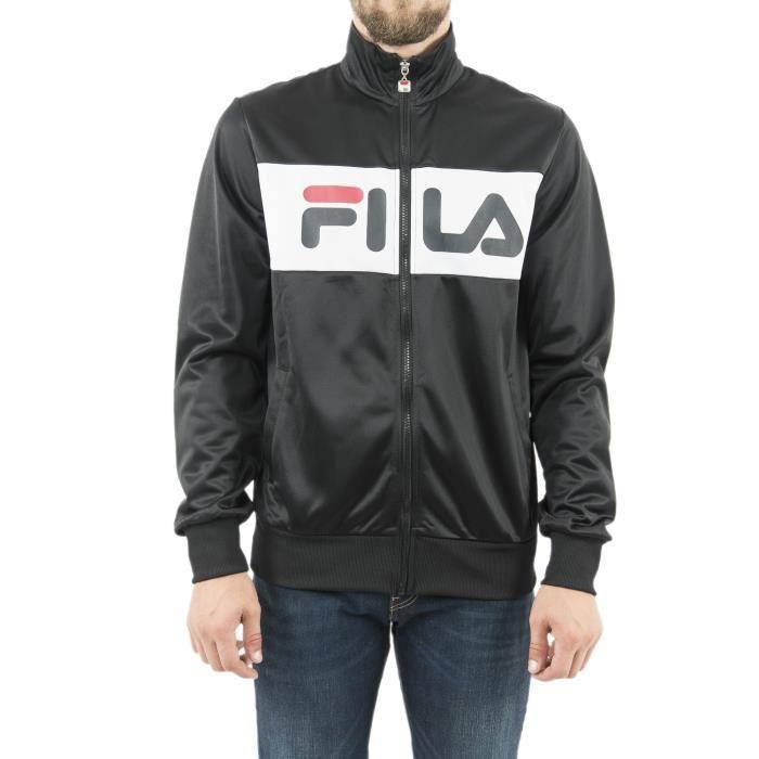 FILA Veste Noir/Blanc Homme