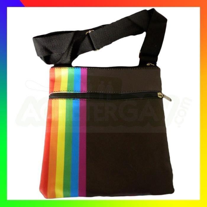 POCHETTE ARC EN CIEL Rainbow Gay Pride Sac Sacoche No Drapeau Écusson Patch Ceinture ...