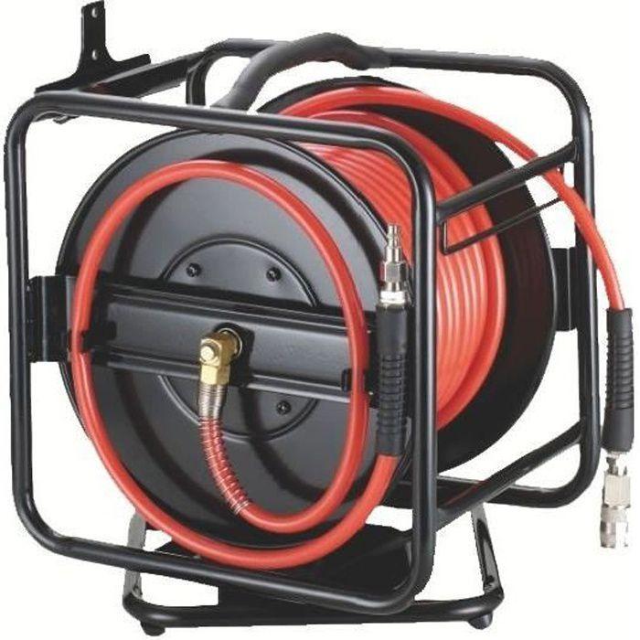Enrouleur avec tuyau basse pression de 30 Mètres