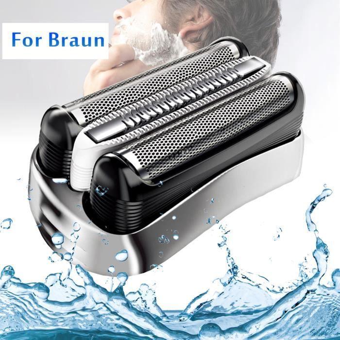 TEMPSA Grille de rechange tête de rasage rasoir Pour Braun Series 3 32S 3070 3050 3045 3040 3030 3020 350 340 320