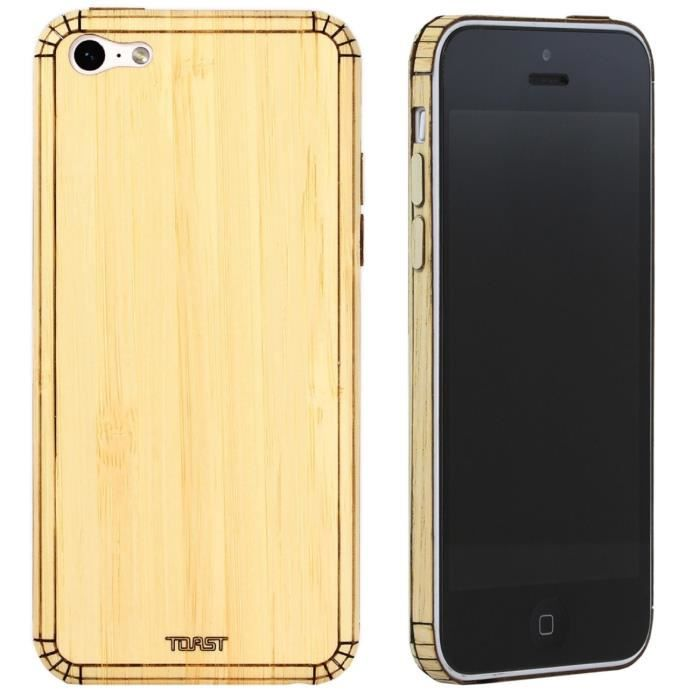 TOAST Coque de protection pour Iphone 5C - Bambou