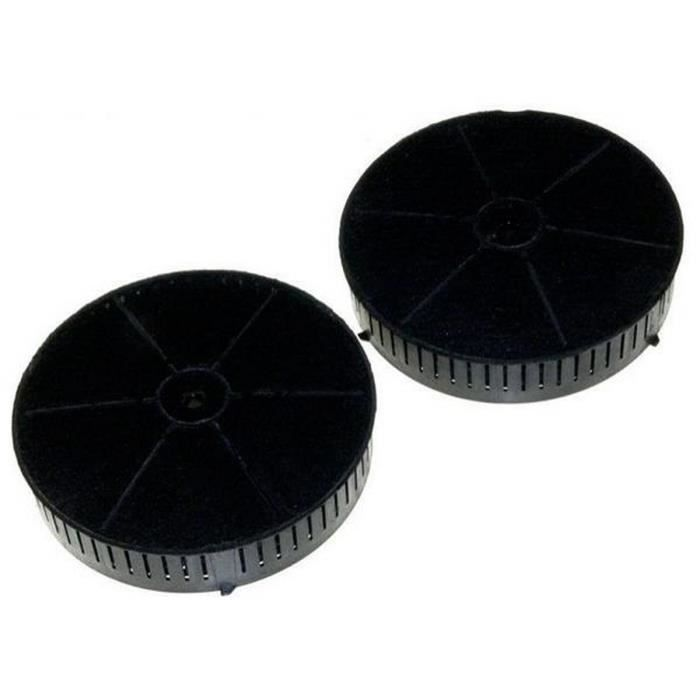 Lot de 2 filtres charbon T57 (260890-1168) - Hotte - WHIRLPOOL, ARISTON HOTPOINT, ELICA, ELECTROLUX, BAUKNECHT, INDESIT, AEG, IKEA