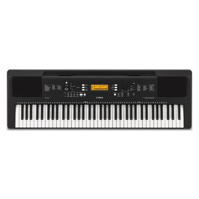 Pack Yamaha PSR-EW300 Clavier arrangeur 76 notes + Support en X