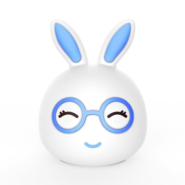LAMPE A POSER USB de charge Lapin silicone coloré LED Portable N
