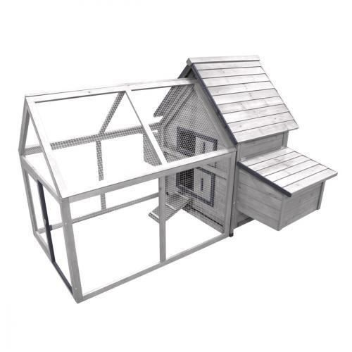 Poulailler castle cottage 3 poules achat vente for Surface poulailler 2 poules