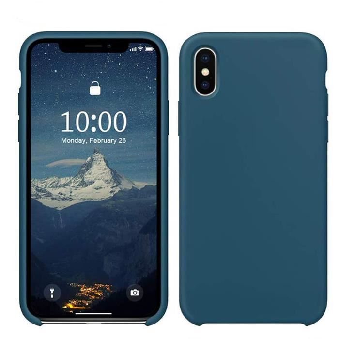 akr pack iphone x xs coque en silicone verre t