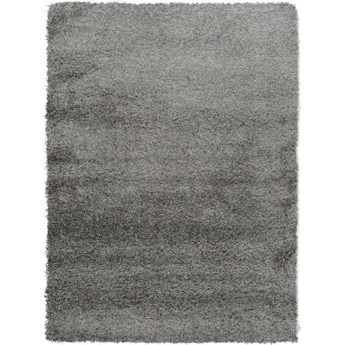benuta tapis poils longs sophie gris 120x170 cm achat vente tapis cdiscount. Black Bedroom Furniture Sets. Home Design Ideas