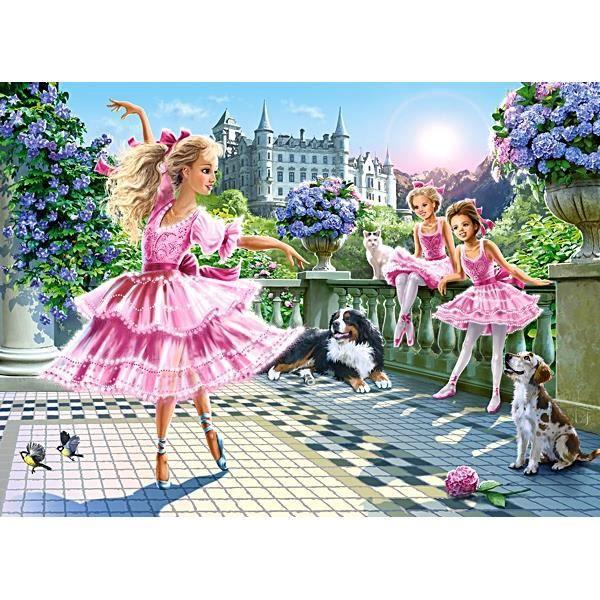 PUZZLE Puzzle 180 pièces Danse du Ballet