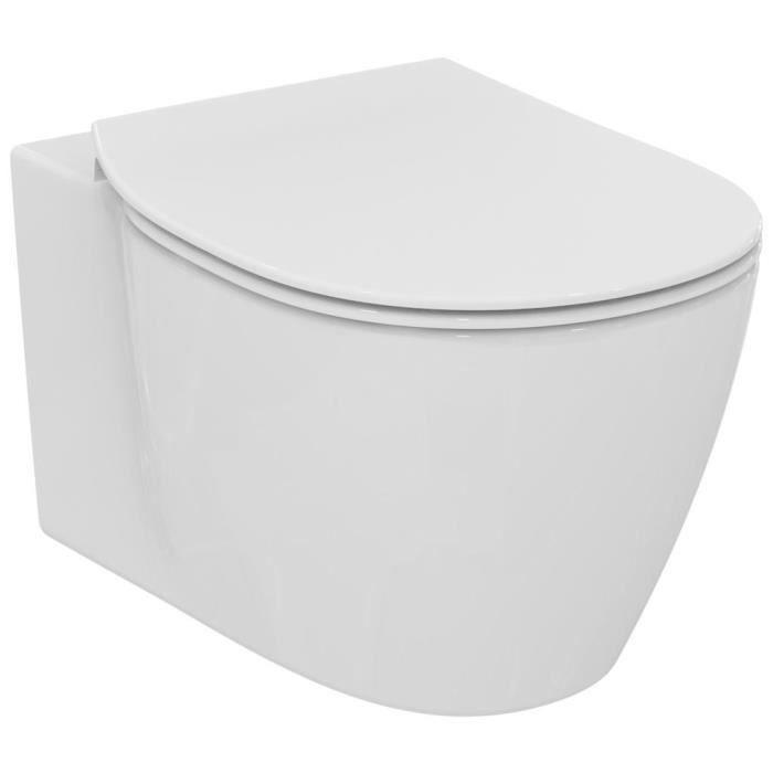CUVETTE WC SEULE Ideal standard Pack WC suspendu Space Connect avec