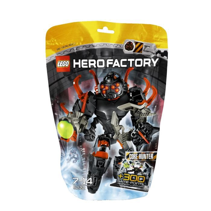 ASSEMBLAGE CONSTRUCTION Lego Hero Factory Core Hunter