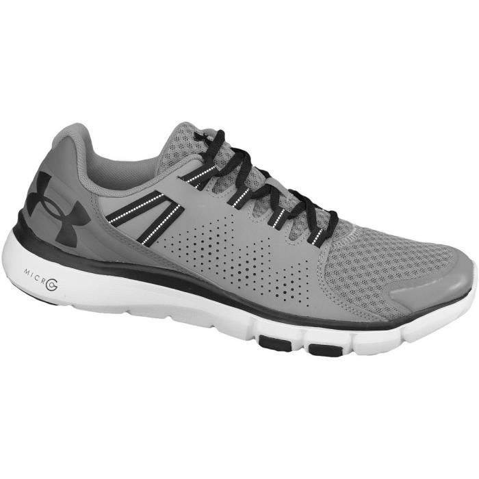 Under Armour Micro G Limitless Tr 1264966-035 Grey - Chaussures Chaussures-de-running Homme