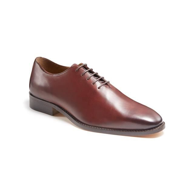 Mc One Richelieu Chaussures Marron Harry 44 Brown FINLAY véritable Dark Pointure Cuir Cut kiPXZuTO