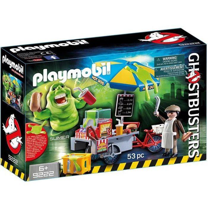 Photo de playmobil-9222-ghostbusters-edition-limitee-bouffe-tout-avec-stand-de