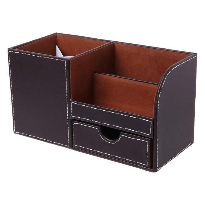Multifonctionnel Pot A Stylo Boite De Rangement Pour Cartes De Visite Rangement Pour Bureau Organisateur De Bureau M