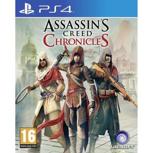 JEU PS4 Assassin's Creed Chronicles Trilogie Jeu PS4