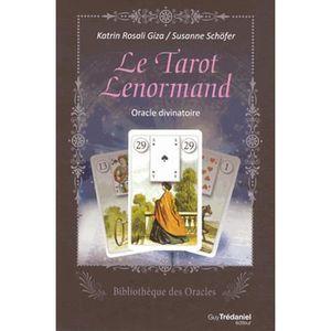 LIVRE PARANORMAL Le tarot Lenormand