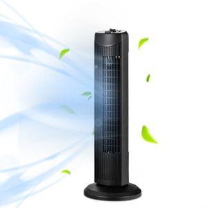 Noir 3 vitesses oscillation /à 60/º 103cm Ventilateur tour de refroidissement avec t/él/écommande minuterie 7 heures Aigostar Ross long c/âble de 1,8m Design exclusif. 3 modes