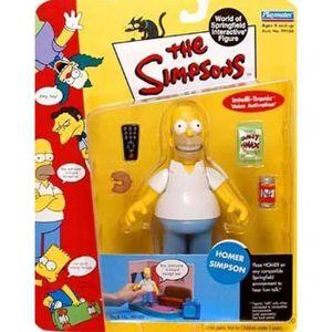 """Homer Simpson Gold 3/"""" Bouddha par KIDROBOT Dans Scellé Matt Groening deco box"""