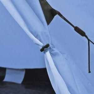 TENTE DE CAMPING R160 Couleur Bleu clair Kigali Cette tente de camp