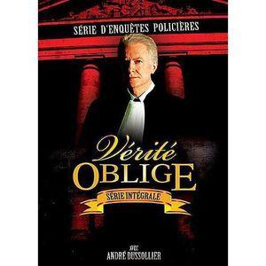 DVD SÉRIE BQHL W130 - DVD SERIE TV - Vérité oblige - L`intég