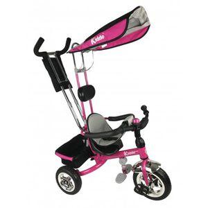 DRAISIENNE Kiddo Rose Smart Nouveau Design 4-en-1 Tricycle En