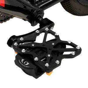 Noir Speedplay ZERO Inox Vélo de route pédales avec visiter les crampons