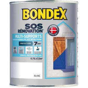 PEINTURE - VERNIS Peinture de rénovation multi-supports 0,75L gris a