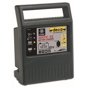 CHARGEUR DE BATTERIE DECA Chargeur de Batterie 12 Volts - 30 Amp/h