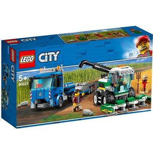 ASSEMBLAGE CONSTRUCTION LEGO® City 60223 Le transport de l'ensileuse