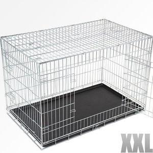CAISSE DE TRANSPORT Cage de transport pliable pour chien, taille XXL.