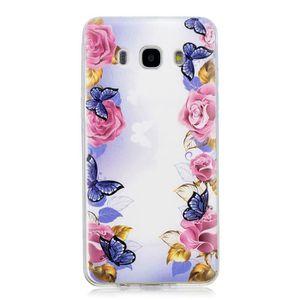 HOUSSE - ÉTUI Coque Galaxy J5 2016 J510 Transparent Mince TPU So