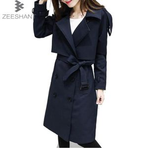 Imperméable   Trench ZEESHANT Femme Manteau Trench Coat Jacket Avec Cei