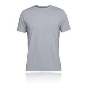 Under Armour Ua Heatgear Garçons RAID MK1 tee gris de sport à manches courtes T Shirt
