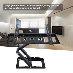 FIXATION - SUPPORT TV OUTAD® Support Murale TV Orientable et Inclinable